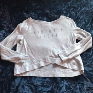 Victoria's Secret Sport Crop Sweater
